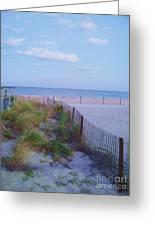 Down The Shore At Belmar Nj Greeting Card