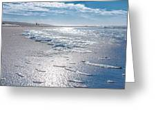 Down To The Beach Greeting Card