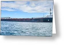 Downbound At Mission Point 2 Greeting Card