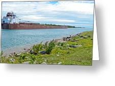 Downbound At Mission Point 3 Greeting Card