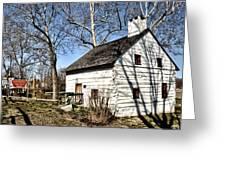 Downingtown Log House 1701 Greeting Card