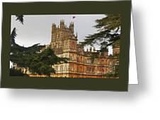Downton Abbey Vision # 4 Greeting Card