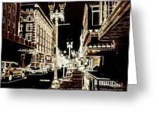 Downtown 2 By Angelia  Greeting Card