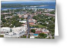 Downtown Annapolis Greeting Card