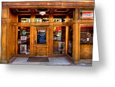 Downtown Athletic Club - Prescott Arizona Greeting Card