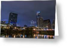 Downtown Austin Greeting Card