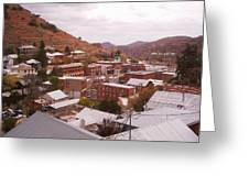Downtown Bisbee Greeting Card