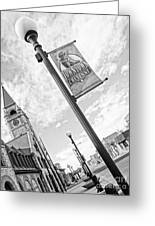 Downtown Cheyenne Greeting Card
