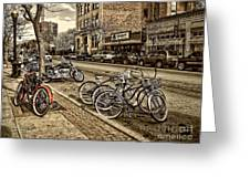 Downtown Coeur D'alene Idaho Greeting Card