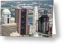 Downtown Columbus Greeting Card