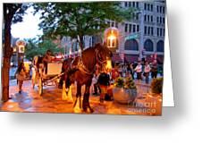 Downtown Denver Colorado Greeting Card