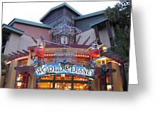 Downtown Disney Anaheim - 121210 Greeting Card