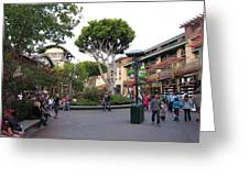 Downtown Disney Anaheim - 12128 Greeting Card