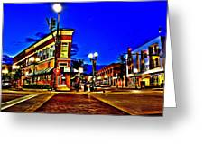 Downtown Elgin Il Greeting Card