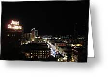 Downtown Energy Greeting Card