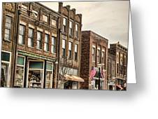 Downtown Jonesborough Greeting Card