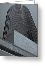 Downtown La Skyscraper Greeting Card by Pro Shutterblade
