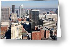 Downtown Louisville Kentucky Greeting Card
