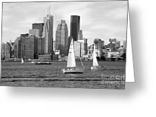 Downtown Skyline Of Toronto On Greeting Card