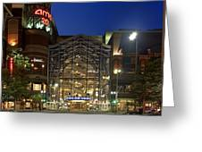 Downtown Spokane Washington Greeting Card
