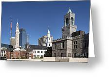 Downtown Springfield Greeting Card