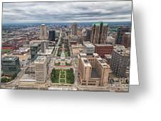 Downtown St Louis Old Courthouse Greeting Card
