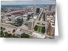 Downtown St Louis Greeting Card
