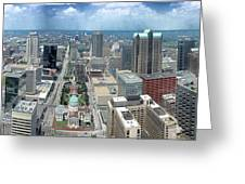 Downtown St. Louis Greeting Card