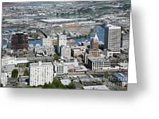 Downtown Tacoma Washington Greeting Card