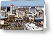 Downtown Wichita Greeting Card