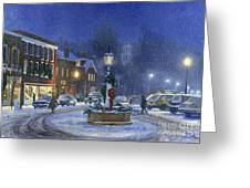 Downtown Woodstock Greeting Card