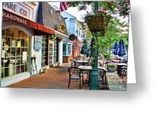 Downtown Worthington Greeting Card
