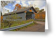 Doyle Road Covered Bridge Greeting Card
