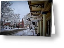 Doylestown Inn Greeting Card