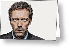 Dr House Greeting Card