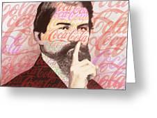 Dr. John Pemberton Inventor Of Coca-cola Greeting Card