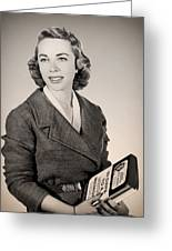 Dr Joyce Brothers 1959 Greeting Card