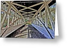 Dr. Knisely Covered Bridge Greeting Card