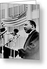 Dr Martin Luther King Jr Greeting Card