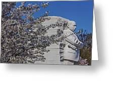 Dr Martin Luther King Jr Memorial Greeting Card