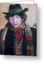 Dr Who #4 - Tom Baker Greeting Card