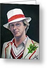 Dr Who #5 - Peter Davison Greeting Card