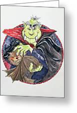 Dracula Greeting Card