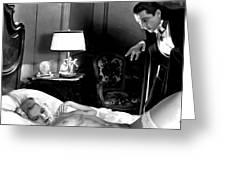 Dracula Bela Lugosi Fantasy Nude Greeting Card