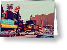 Dracula Castle Tussaud Wax Museum Niagara Falls Ontario Attractions Vintage Art C Spandau Paintings Greeting Card
