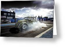 Drag Racing 1 Greeting Card