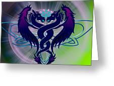 Dragon Duel Series 2 Greeting Card