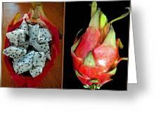 Dragon Fruit Greeting Card