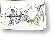 Dragon Girl Greeting Card