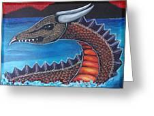 Dragon Three Greeting Card